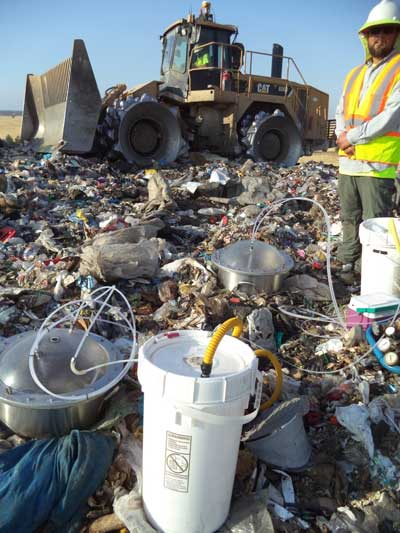 Assessing Odor Emissions from a Landfill