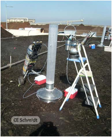 Flux Chamber testing biofilter scaqmd modified technology